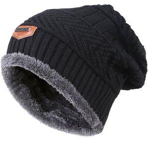 f59feabfbc Accessories - Winter Knit Skull Cap Woolen Slouchy Beanie Hat